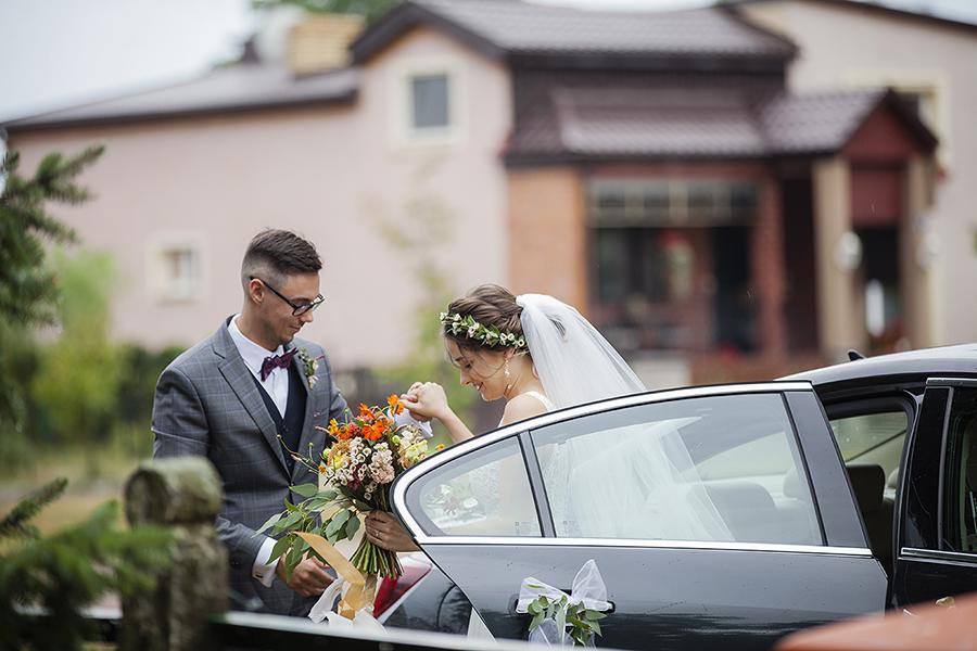 samochód do ślubu poznań