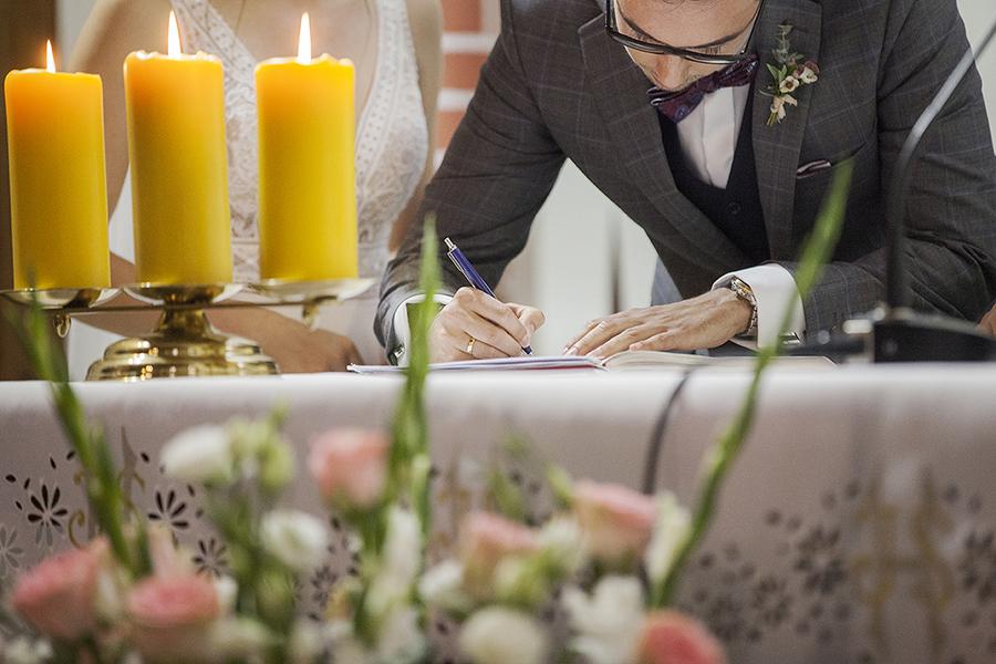 fotograf ślubny skoki